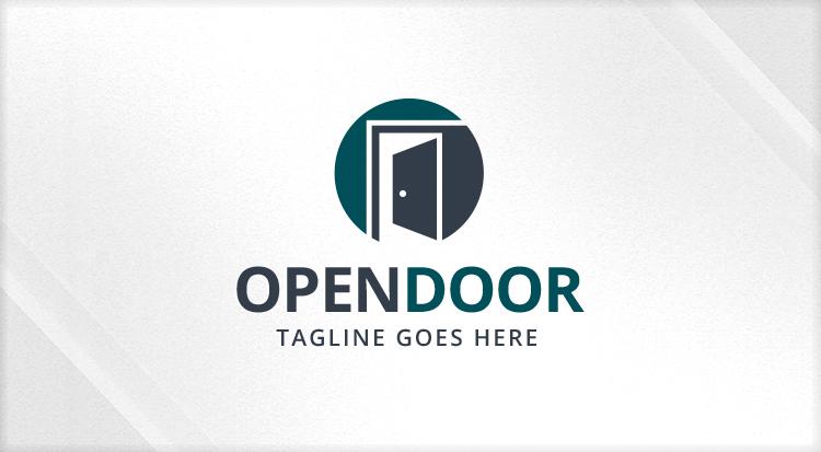Item Preview  sc 1 st  MOJO Marketplace & Open - Door - Real Estate Logo - Logos \u0026 Graphics