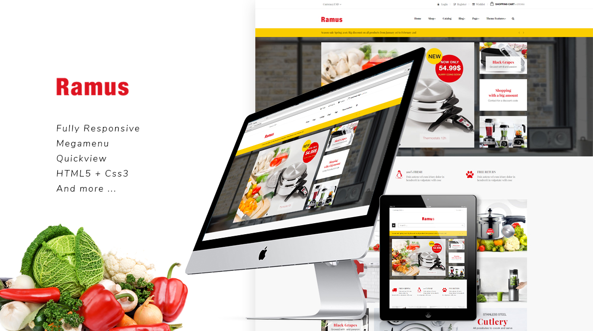 688e3c537bfe5 Ap Kitchenware - Shopify Theme - Themes   Templates
