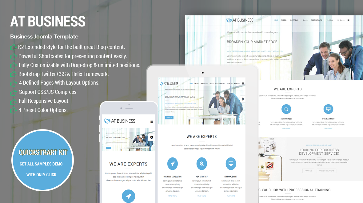 At business joomla 3 corporation business joomla template 6 sales flashek Gallery