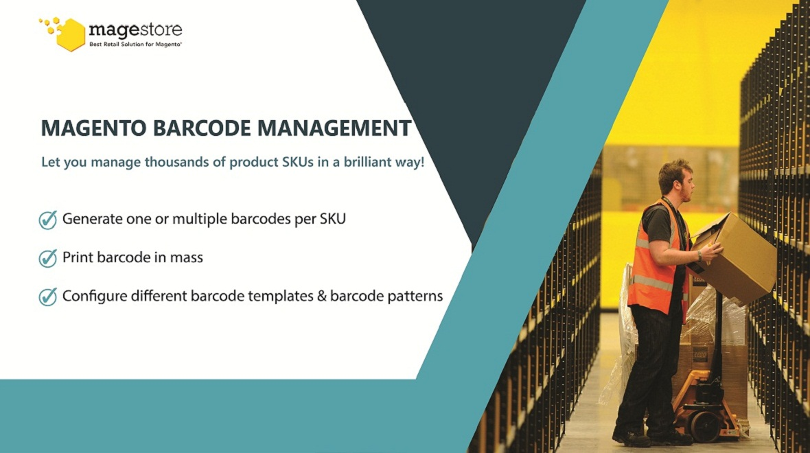 BARCODE MANAGEMENT - Magento 1 Extension - Plugins & Extensions