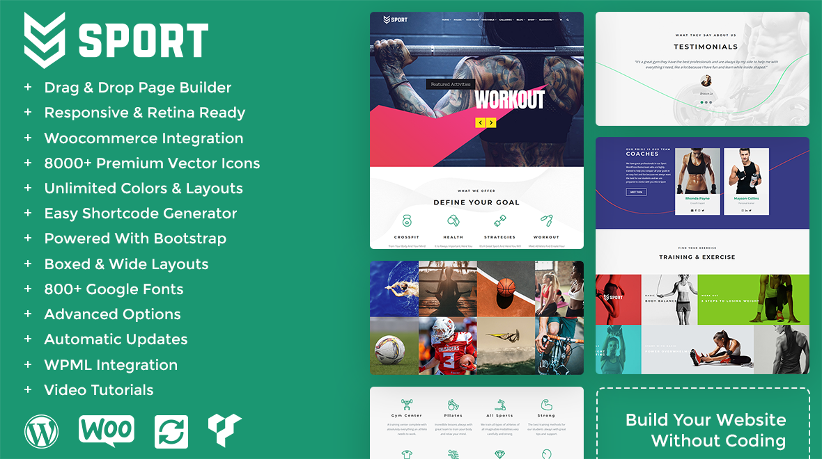 b9c546e1 Sport Theme - MultiPurpose Sports WordPress Theme - Themes & Templates