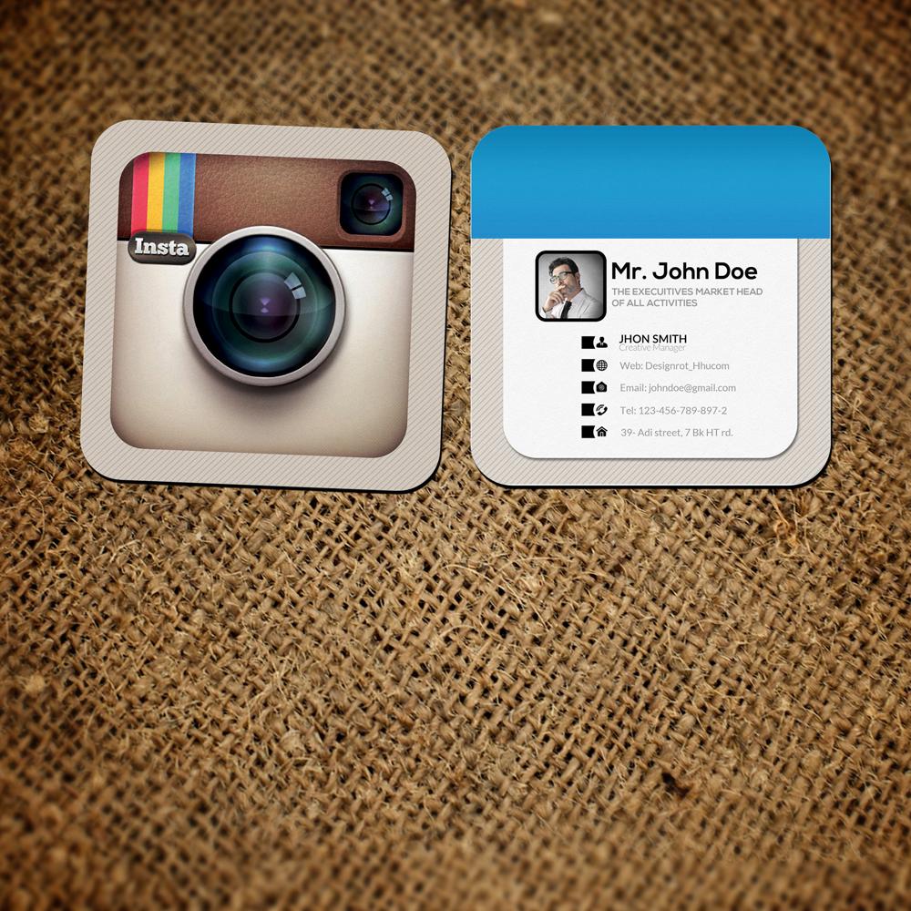 Mini Instagram Social Card Logos & Graphics