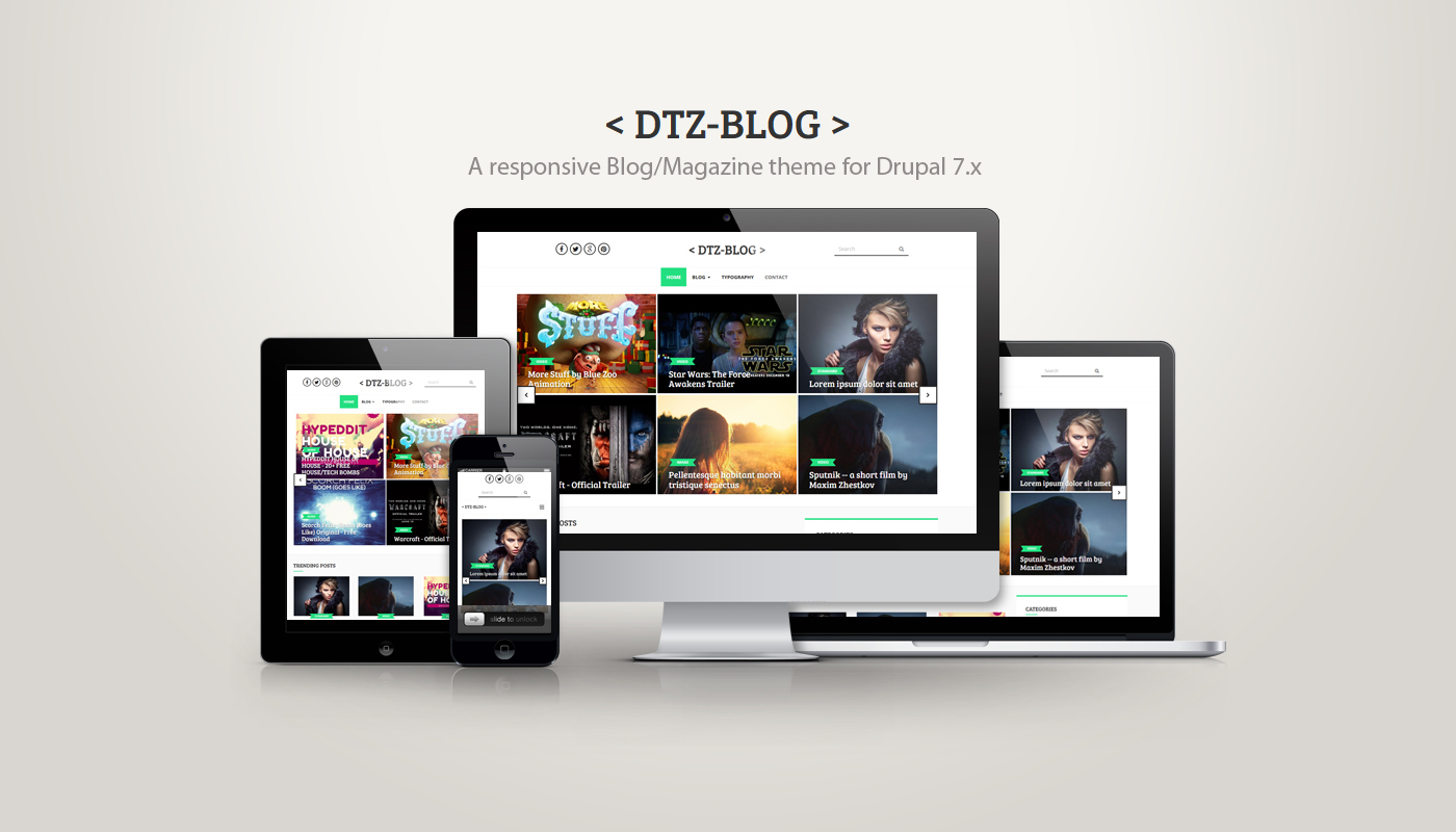 drupal 7 themes responsive