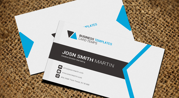 Material design business card logos graphics for Material design business card