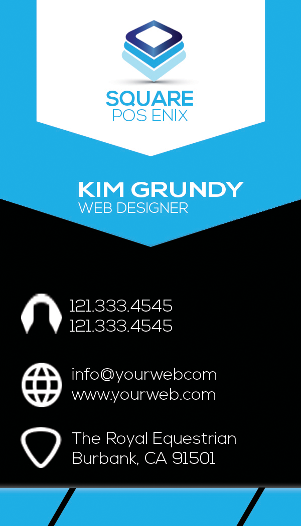 Enix Great Business Card Logos & Graphics