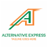 Alternative Letter A logo