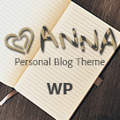 Anna - Beautiful WordPress Blog Theme