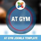 AT Gym – Fitness / Gym Joomla template