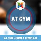 AT Gym – Fitness / Gym Joomla template