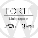 FORTE - Clean and clear Wordpress theme