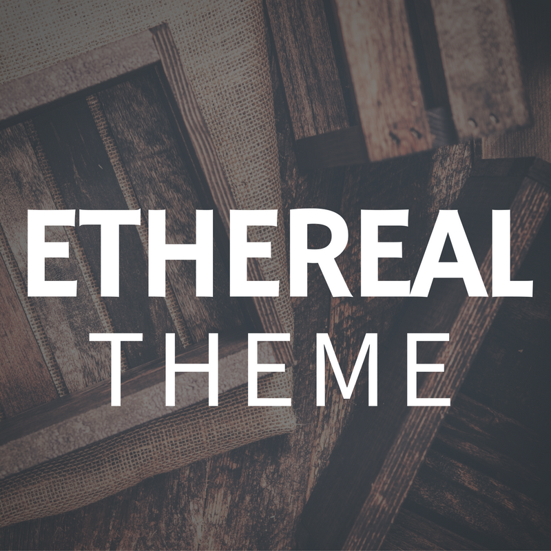 Ethereal - A Premium Weebly Theme