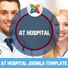 AT Hospital – Medical / Hospital Joomla Template