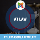 AT Law – Law Joomla template