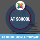 AT School – College / School Joomla template