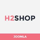 SJ H2shop - Responsive VirtueMart 3 Joomla Template