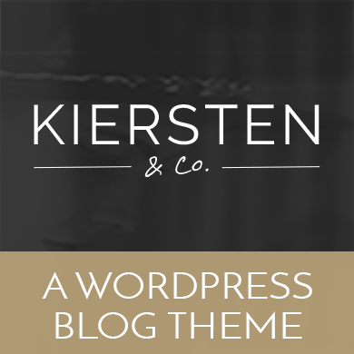 Kiersten - WordPress Blog Theme