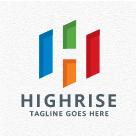 High Rise Building - Letter H Logo