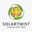 Solar Twist / Spin Logo