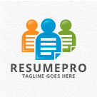 Resume Pro - People Logo