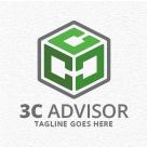 3C Advisor - Letter C Logo