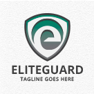 Eliteguard - Letter E Shield Logo