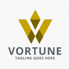 Vortune - Abstract Letter Logo