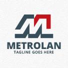 Metrolan - Letter M Logo