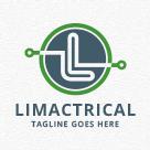 Limactrical - Letter L Logo