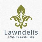 Lawndelis - fleur de lis Logo