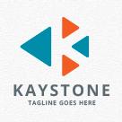Kaystone - Letter K Logo