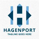 Hagenport - Letter H Logo