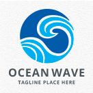 Ocean Wave Logo