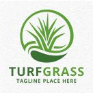 Turf Grass Logo