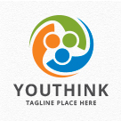 Youth Think - Teamwork/Collaboration - People Logo
