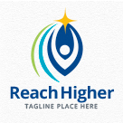 Reach Higher - People Logo
