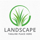 Landscaping / Lawn / Grass Logo