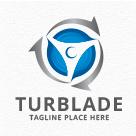 Wind Turbine Blade Logo