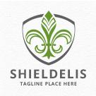 Shieldelis - Fleur De Lis Logo