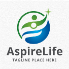 Aspire Life - People Logo