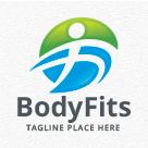 Body Fits - People Logo