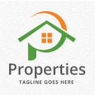 Properties - Letter P Logo