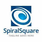 Spiral Square Logo