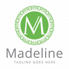 Madeline - Letter M Logo