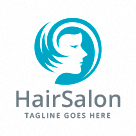 Hair Salon - Woman Logo