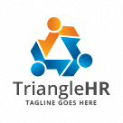 Triangle Human Resources - People Logo