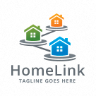 Home Link - Real Estate Logo