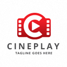 Cineplay - Letter C Logo