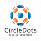 Circle Dots Logo