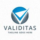 Validitas - Checkmark -  Letter V Logo