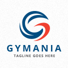 Gymania - Abstract Letter G Logo